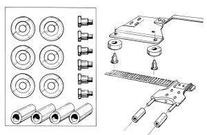 Sunroof Roller Kit at evwparts
