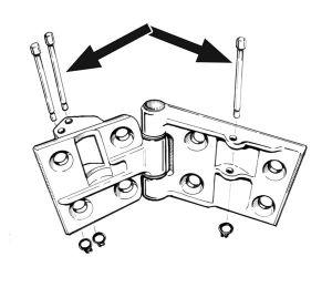 Door Check Rod Pins, Rollers & Clips at evwparts