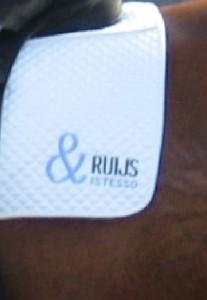 Voorbeeld van sponsordekje van Ruijs en Istesso