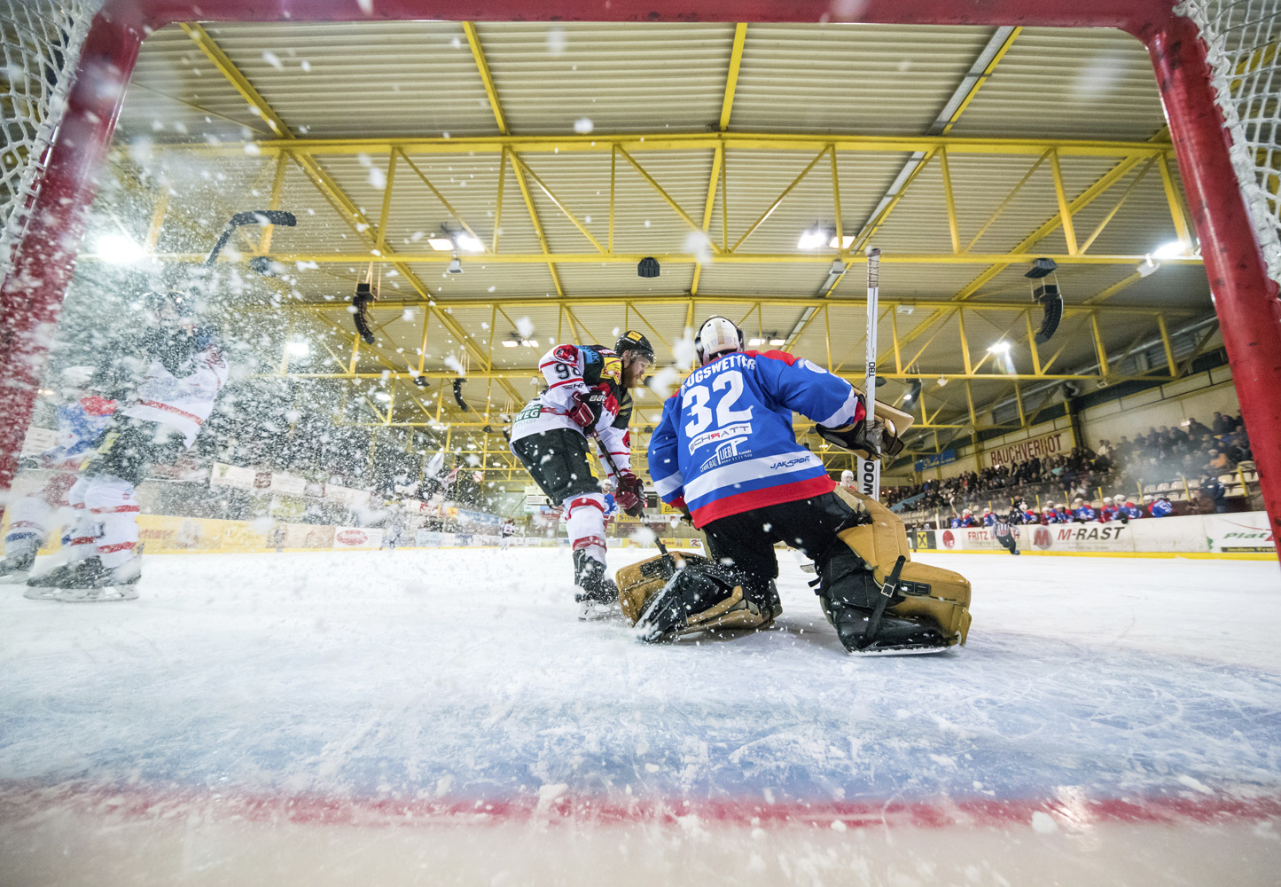 EV Zeltweg vs ATSE Graz by netcam Lucas Prifpl und Michael Jurtin