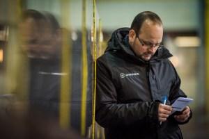 Nachdenklicher Head Coach der Lions Michael Pollross