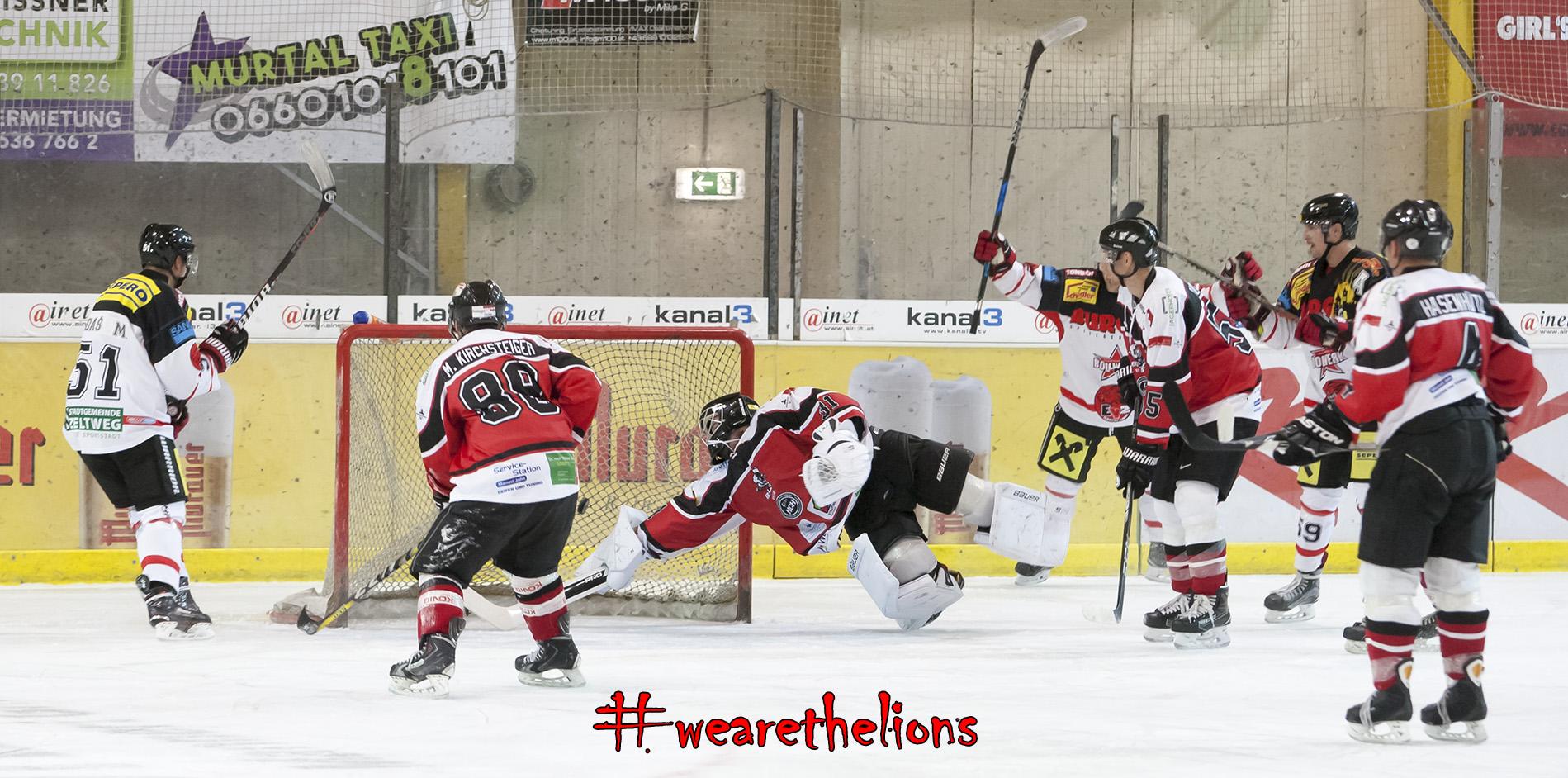 Michal Dudas mit dem zweiten Treffer