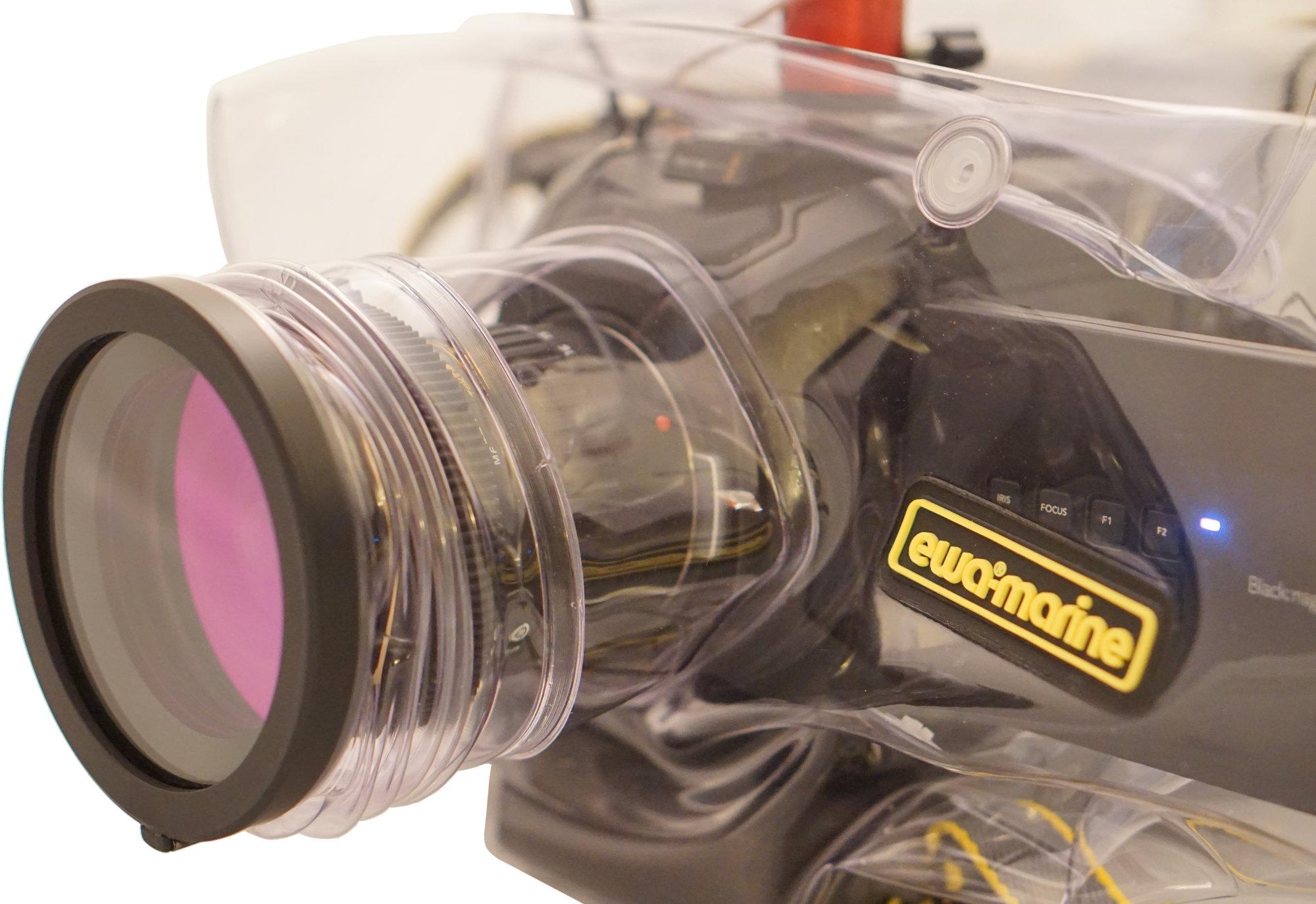 detail ewa-marine A-BM2 for Blackmagic URSA mini