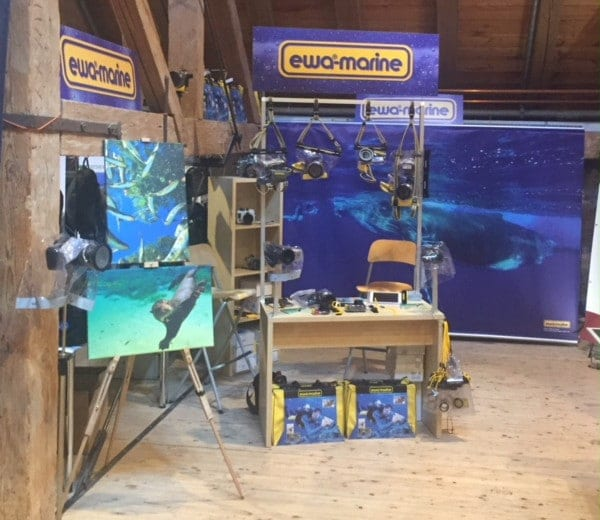 ewa-marine at trade shows 2018