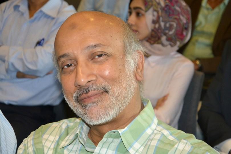 Sardar Rahim Khan, président de la Commission Industrie  à la Chambre de Commerce et d'Industrie de La Réunion