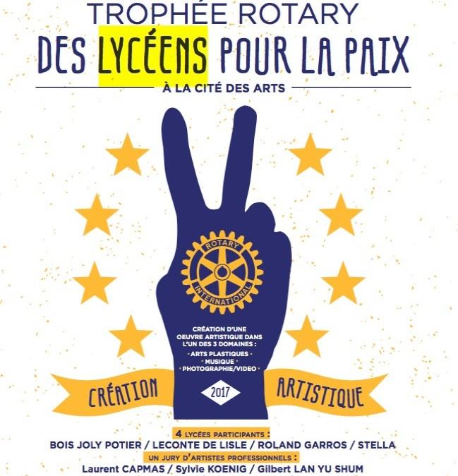 2ème Trophée des Lycéens pour la Paix