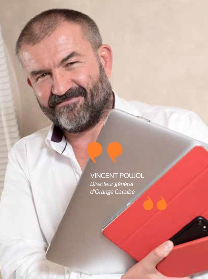 Vincent Poujol Directeur général d'Orange Caraïbe