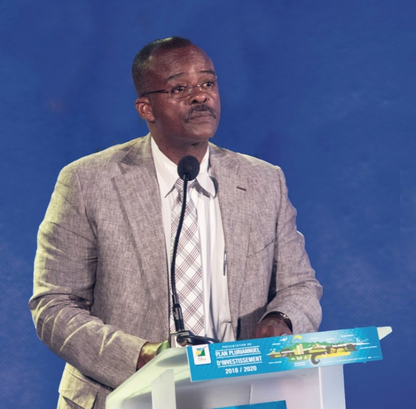 Ary Chalus Président de la Région Guadeloupe