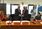 Thierry Kergall, directeur général du Groupe Orange Antilles-Guyane 2