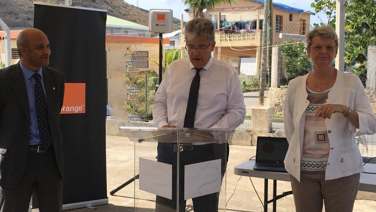 Orange à Saint-Martin Message reçu cinq sur cinq