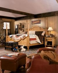 French Country Poster Bedroom Set