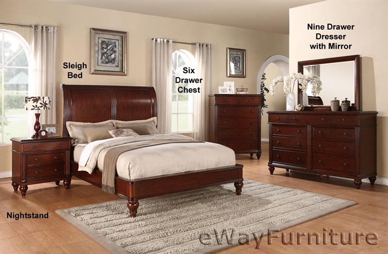 cheshire british colonial sleigh bed