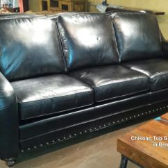 Best Sofas Made In The Usa Lavender Sofa Chisolm Top Grain Leather Bison Black