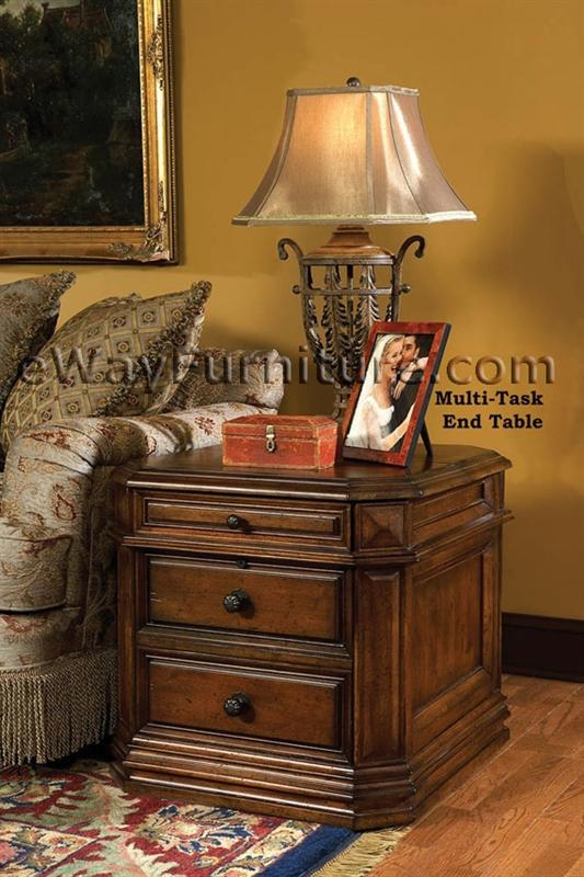 Laptop Storage End Table AS99 LSET