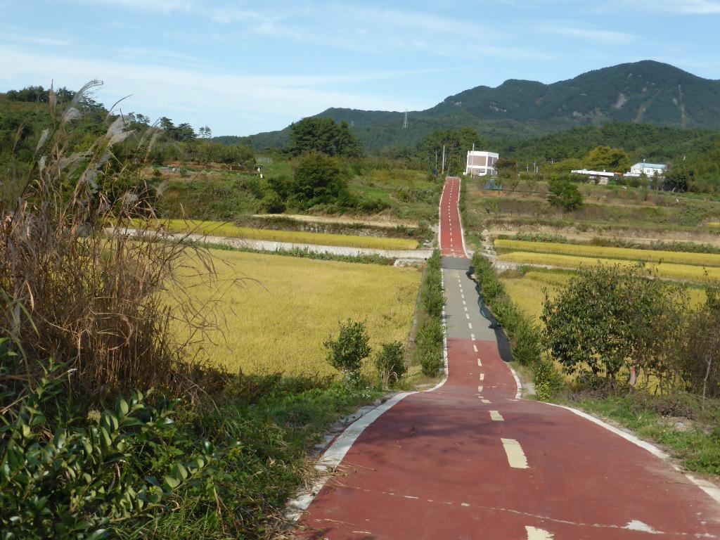 Korea bike path