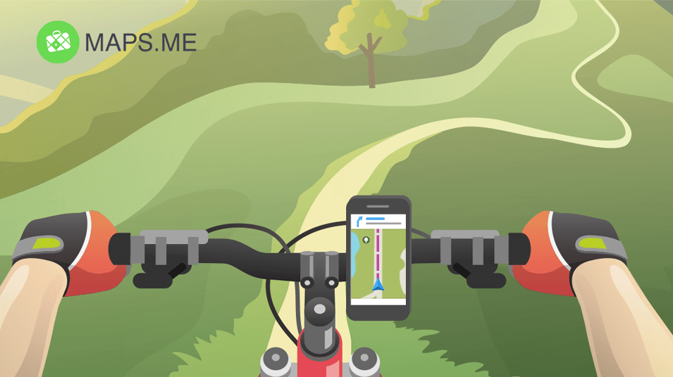 MAPS ME launches bicycle navigation
