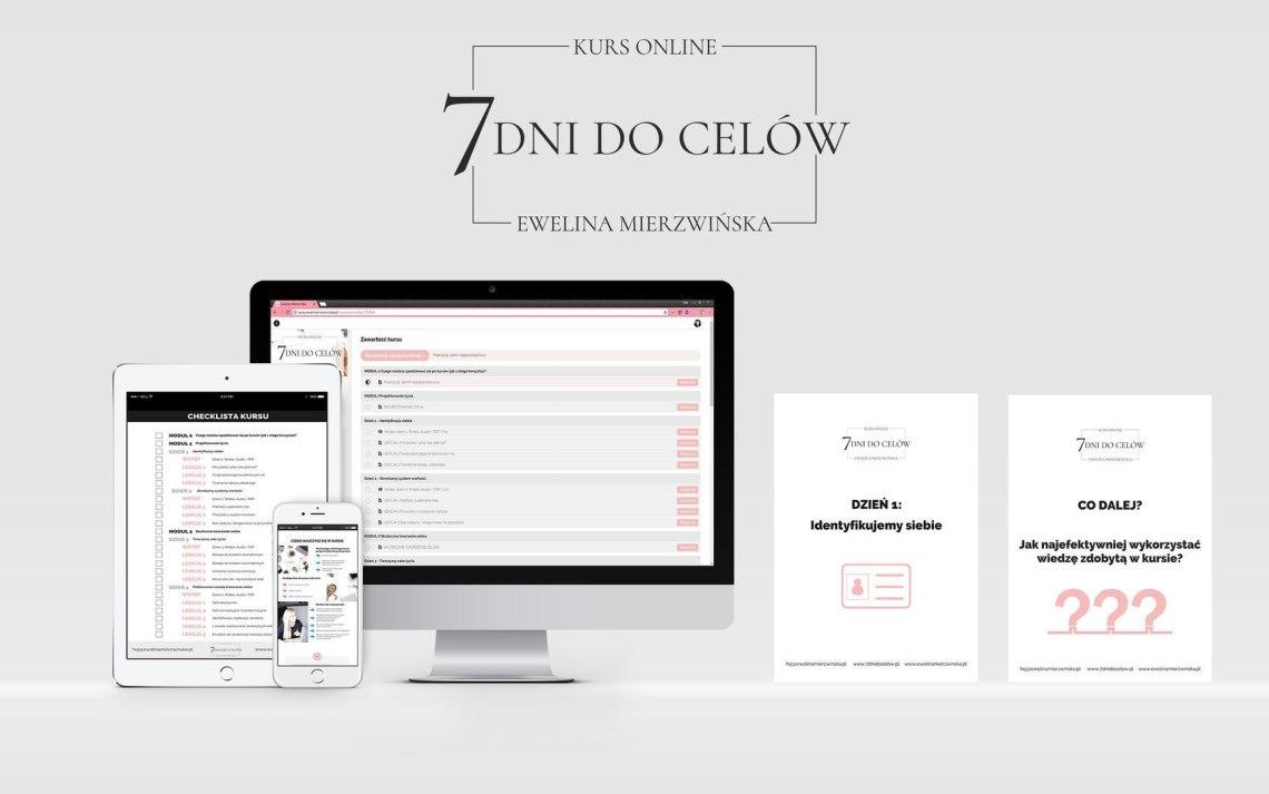7 Dni DoCelów - Kurs Online, Skuteczne tworzenie irealizacja celów. http://7dnidocelow.pl
