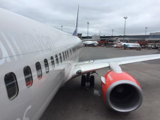 SK7613 vid boarding