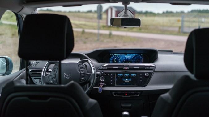 Citroën Grand C4 Picasso interiör