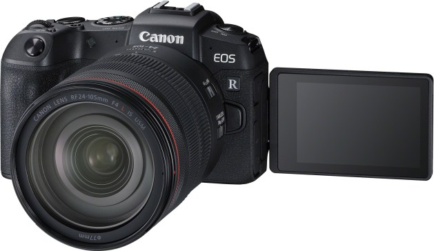 Canon EOS RP med RF 24-105mm F4 L IS USM