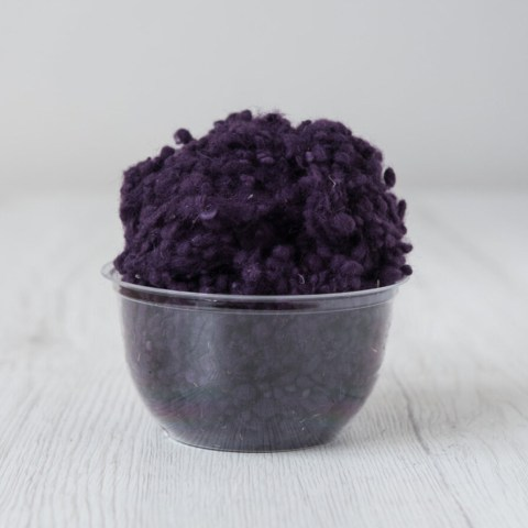 wool nepps Blackberry