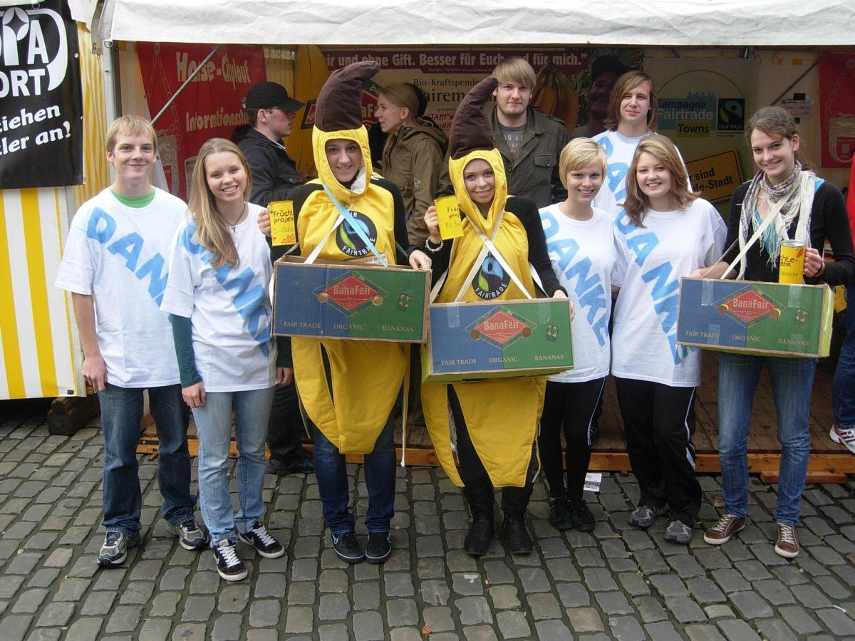 Von laufende Bananen und gespendeten Startnummern
