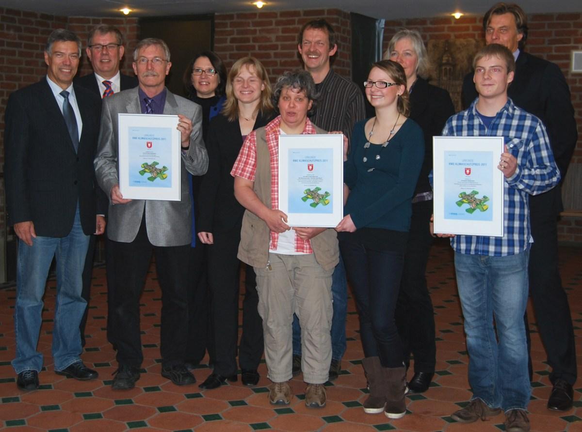 EWG Wesel und Fairtrade-Stadt Steuerungsgruppe erhält den Klimaschutzpreis