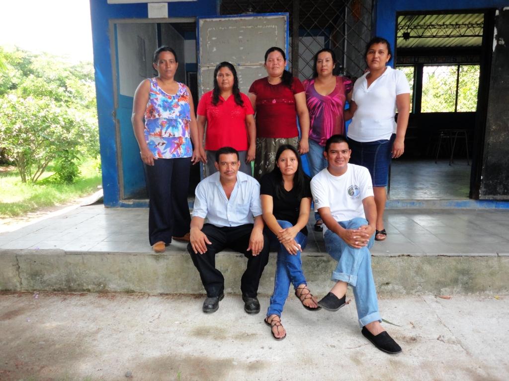 Besuch vom Bajo Lempa aus El Salvador