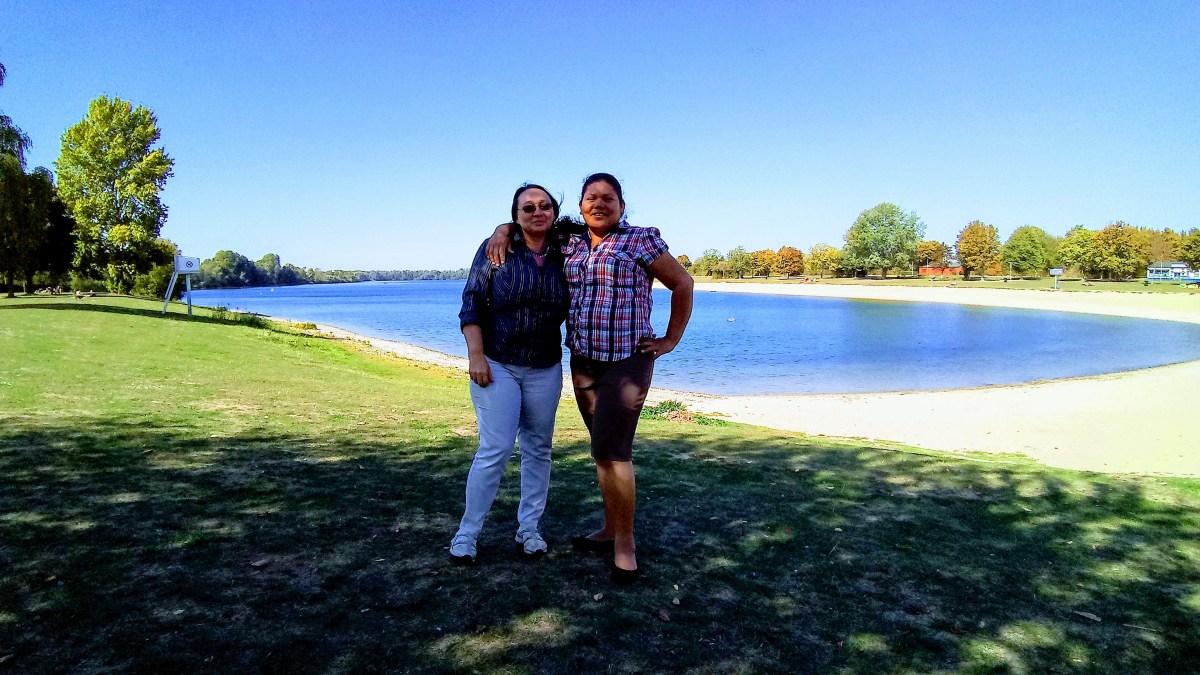 Elena und Norma – großartige Botschafterinnen für den Bajo Lempa!