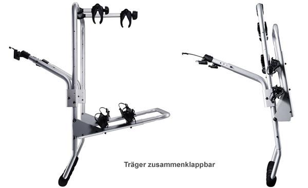 Thule BackPac 973 + Kit 973-18 für 2 Fahrräder Volvo 740