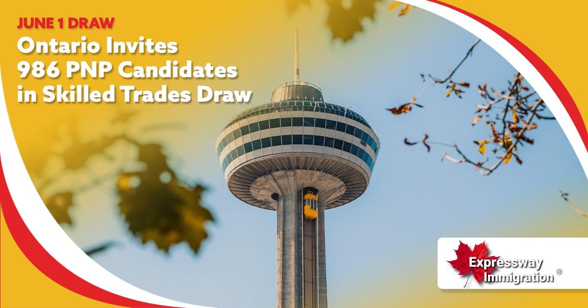 Ontario PNP Skilled Trades Draw