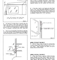 koenig standard cab hardtop instructions 530 630 full 535 half [ 781 x 1024 Pixel ]