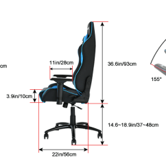 Office Chair Diagram Folding Stool Ewin Champion Series Ergonomic Computer Gaming With Ewinracing Chairs Dimensions