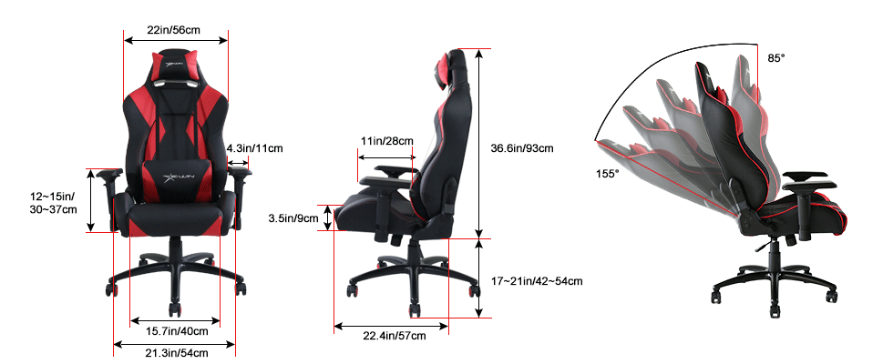 office chair review gathering table and chairs ewin hero series ergonomic computer gaming