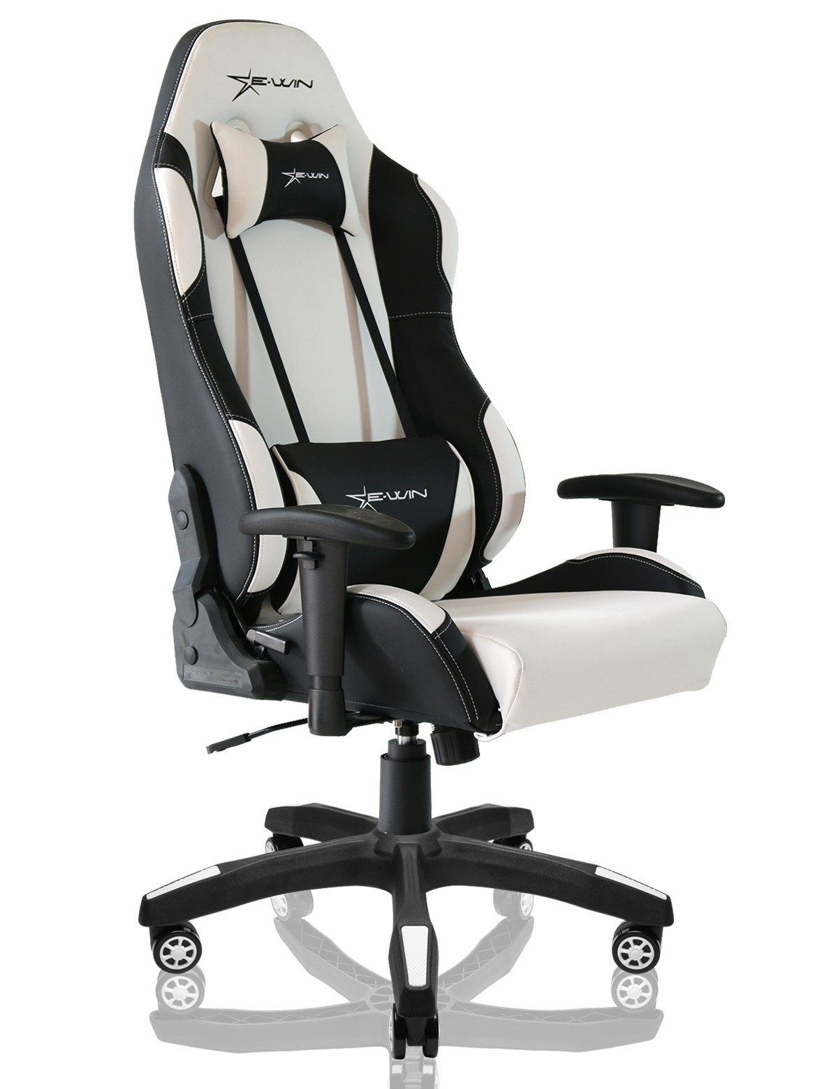 gaming chairs pc foldable with cushions ewinracing clc ergonomic office computer chair