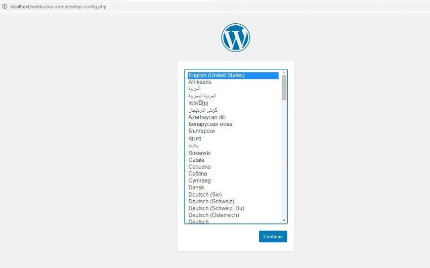 Tutorial Install WordPress di Xampp Terbaru 2020