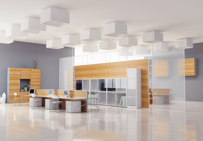 24387235 – the modern office interior design