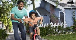 Jak naučit dítě jezdit na kole?