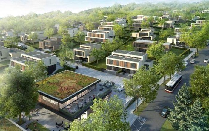 Vily Chuchle: Luxusní bydlení hodné obdivu