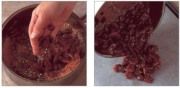 karamel pralinky