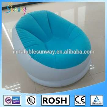 air bag chair round table with chairs for office furniture inflatable sofa