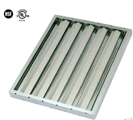kitchen hood filters how to paint cabinets grey exhaust range commercial baffle grease filter