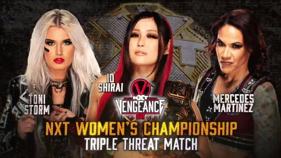 Image result for women's triple threat vengeance day
