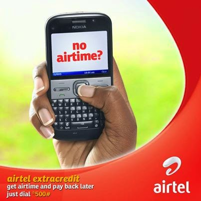 Airtel ExtaCredit - How to Borrow Airtime Credit from your Network Provider