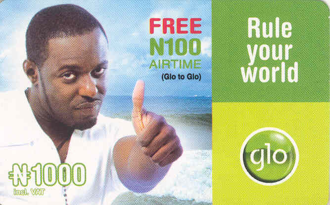 Use Nigerian Glo Recharge Card in Benin Republic, Ghana and Ivory Coast