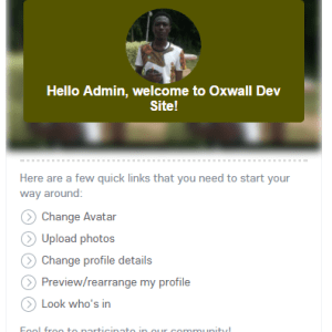 User Avatar Oxwall Plugin