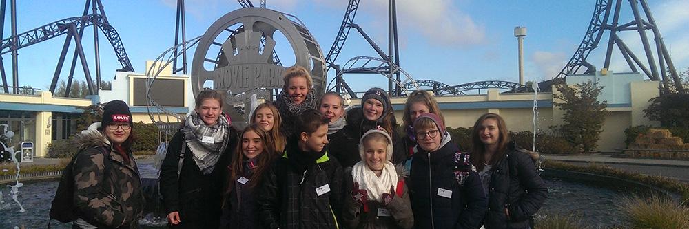 Let´s go together! – Jugendliche der EWU Westfalen unterwegs: Jugendfahrt in den Freizeitpark