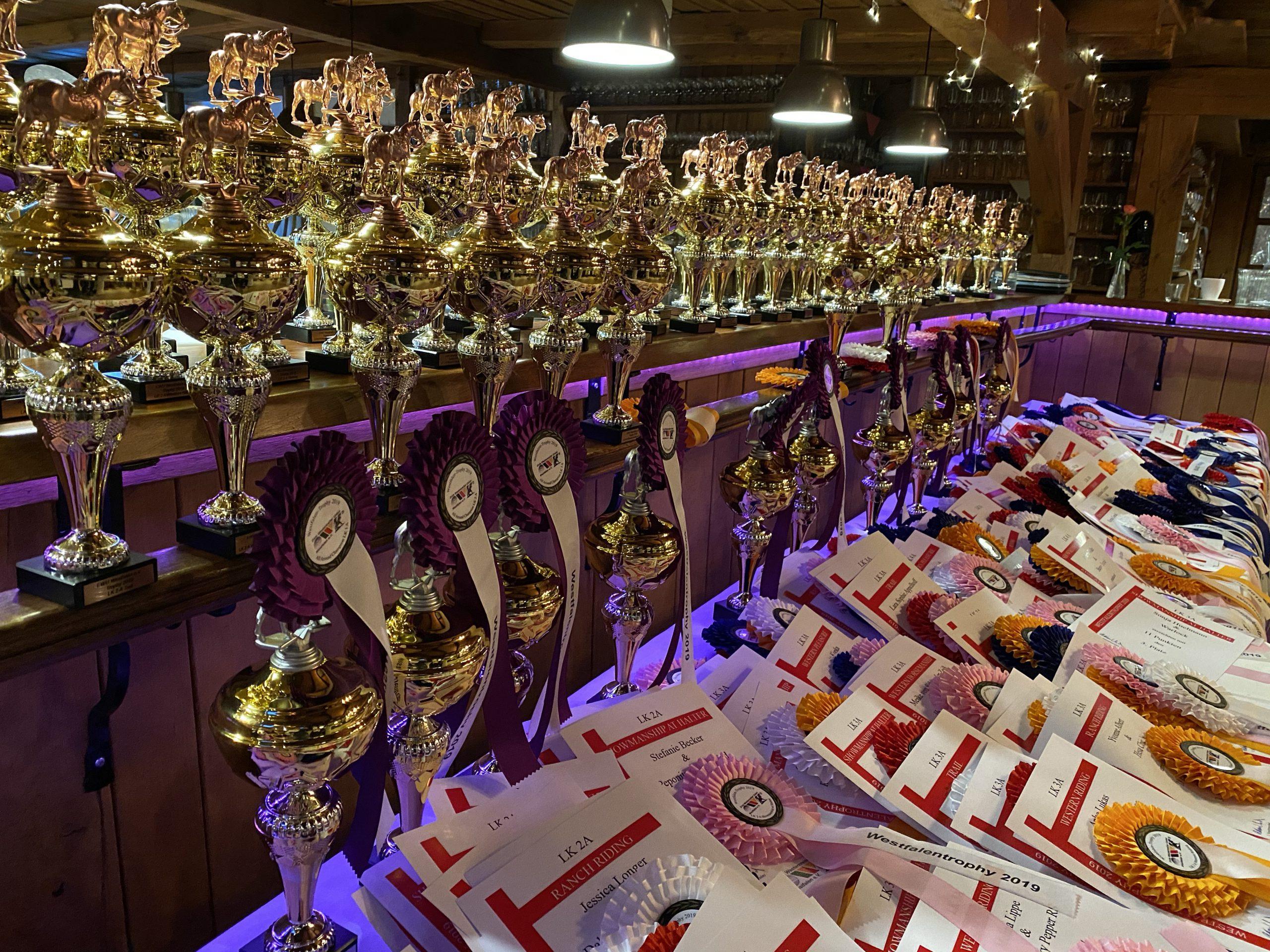 Kartenbestellung Trophy Verleihung 2021