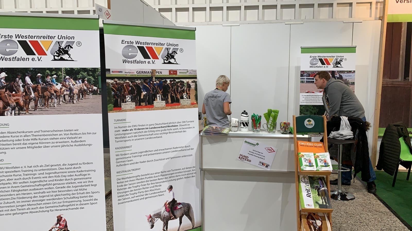 Messe Hund & Pferd 2019 – Wir erwarten Euch mit neuem Messe Stand