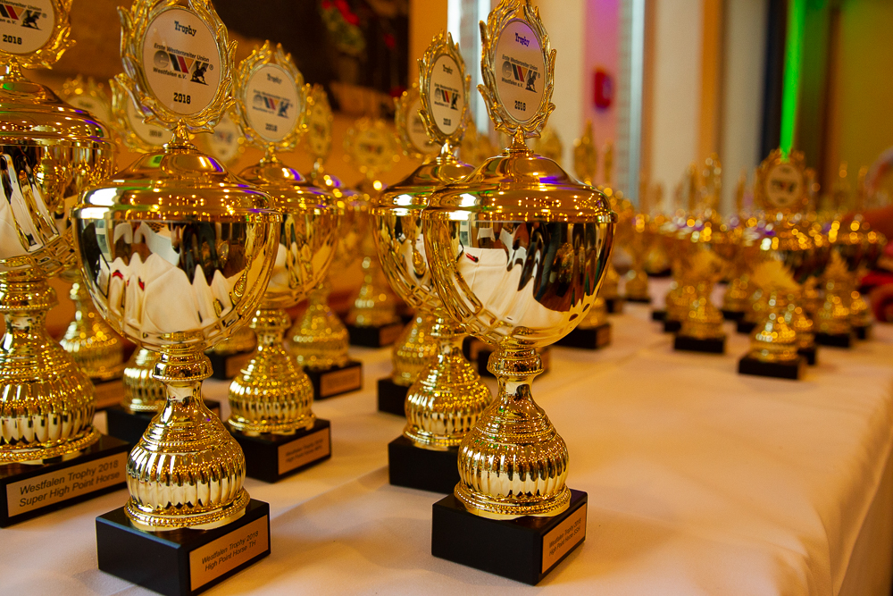 Trophy Party 2019 – Hauptpreise in unserer Tombola